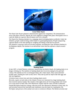 A Defense of Sharks for Kids