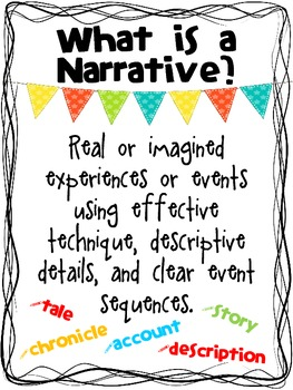 A Detailed Guide to Writing Narratives {Common Core Focused Grades 3-5}