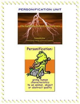 A Detailed Personification Lesson