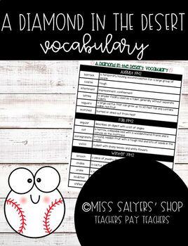 A Diamond in the Desert: Vocabulary Handout