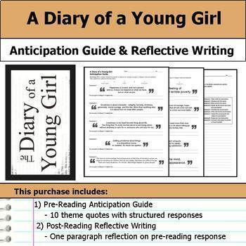 A Diary of a Young Girl Unit Bundle