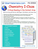 A Differentiated I-Cloze for iPads or Paper - 72 Page Chemistry Pack BUNDLE