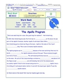 A Differentiated I-Cloze for iPads or Paper - Apollo BE301