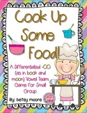 A Differentiated -OO Vowel Team Game for Small Group- Cook Up Some Food!