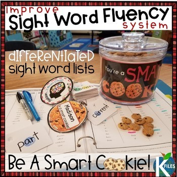 A Differentiated Sight Word Fluency System