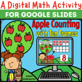 A Digital Math Activity- Apple Counting Sets for Google Slides