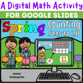 A Digital Math Activity- Spring Counting Sets to 20 for Go