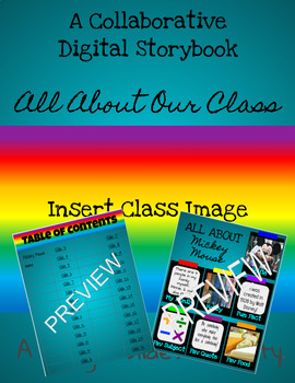 A Digital Storybook - All About Me
