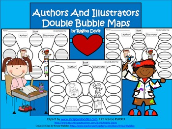 A+ Authors & Illustrators Double Bubble: Compare and Contrast