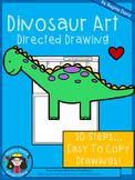 A+ Dinosaur Art: Directed Drawing