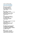 A Dios Le Pido (I Ask God) by Juanes. Spanish Song with En