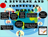 A Diverse and Connected World Two Terms' Work- Geography, Stage 3