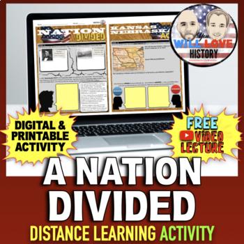 A Nation Divided: Bleeding Kansas, Dred Scott, & Lincoln-Douglas Debate Activity
