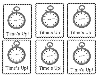 """A Division Game- """"Time's Up"""""""