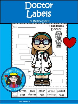 A+ Doctor Labels (Female)