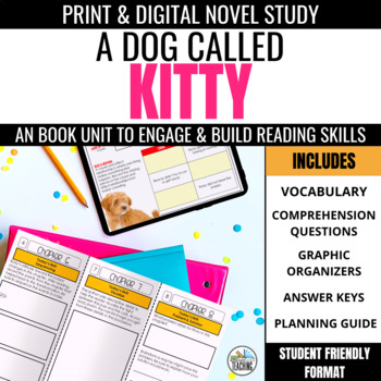 A Dog Called Kitty Trifold Novel Study Unit