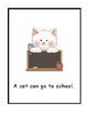 A Dog Can Go to School/Wonders Kindergarten Big Book (Unit 3)