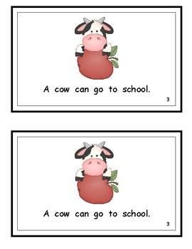 A Dog Can Go to School/Wonders Kindergarten reader (Unit 3)