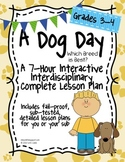 A Dog Day 7-Hour Complete Sub Plans Thematic Unit for Grades 3-4 Common Core
