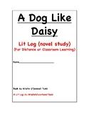 A Dog Like Daisy Lit Log
