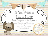 If You Give A Dog A Donut Literacy Companion