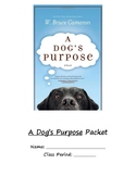 A Dog's Purpose Curriculum Packet