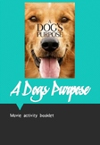 A Dog's Purpose Movie Booklet