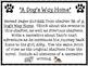 A Dog's Way Home by Bobbie Pyron Narrative Writing Task