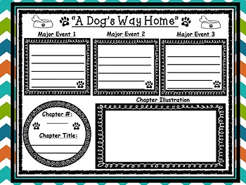 A Dog's Way Home by Bobbie Pyron Novel Study Starter Pack (Chapters 1 and 2)
