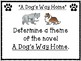 A Dog's Way by Bobbie Pyron Pair & Share Comprehension Questions