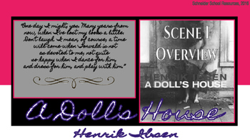 A Doll's House ACT I Overview