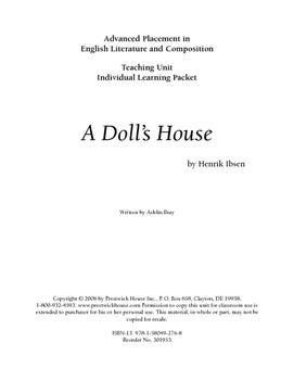 A Doll's House AP Teaching Unit