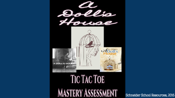 A Doll's House Tic Tac Toe Mastery Assessment