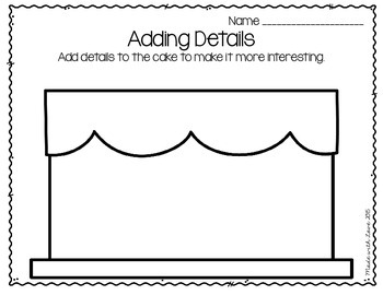 A Dollop of Details: Activities for Adding Details to Writing