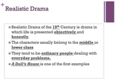A Doll's House Introduction Powerpoint & Student Fill in the blank Notes
