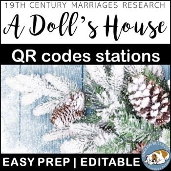 A Doll's House QR Codes Talk: 19th Century Marriages