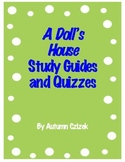 A Doll's House Study Guides, Quizzes and Graphic Organizers