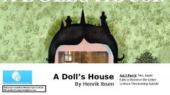 A Dolls House by Henrik Ibsen (12) Act 3: Mrs. Lindes Letter - Suicide Threat