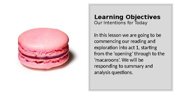 A Dolls House by Henrik Ibsen (2) Act 1: The opening - the macaroons