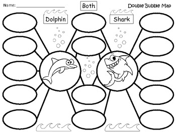 A+ Dolphin & Shark:  Double Bubble Maps