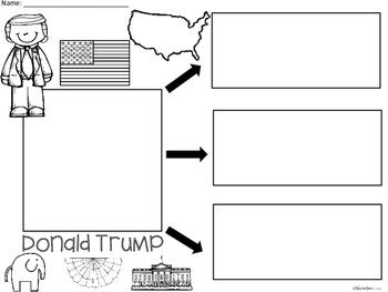 A+ Donald Trump... Three Graphic Organizers