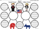 A+ Donald Trump and Hillary Clinton:  Double Bubble Maps