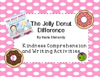 A Donut Makes A Difference Kindness Activities
