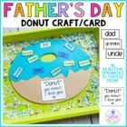 A Donut for Dad (a Father's Day Craftivity}