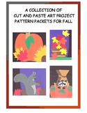 A Downloadable Collection of Cut and Paste Patterns for Fall Bulletin Boards