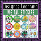 A Dozen Digital Stickers for Secondary Students *  Distanc