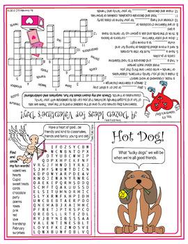 A Dozen Ideas for Valentine's Day Puzzle Card