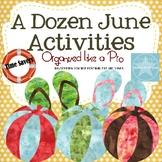 A Dozen June Activities