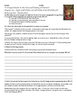 A Dragon's Guide to the Care and Feeding of Humans Quiz Ch. 6 - 8