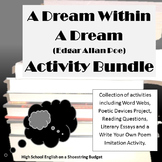 A Dream Within a Dream Activity Bundle (E.A. Poe) PDF